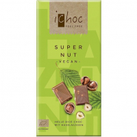 Шоколад ichoc Super Nut Vegan органічний 80г