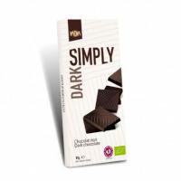 Шоколад органічний Kaoka Simply чорний 80г