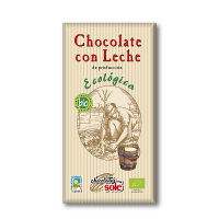 Шоколад Chocolate`s Sole Bio молочний 100г
