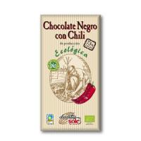 Шоколад Chocolate`s Sole Bio темний з перцем чілі 100г