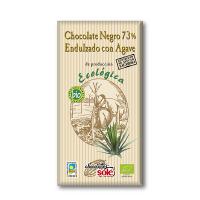 Шоколад Chocolates Sole темний з агавою органічний 100г