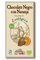 Шоколад Chocolate`s Sole Bio темний 56% з апельсином 100г