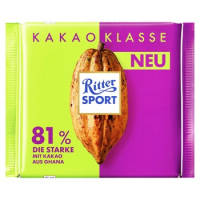 Шоколад Ritter Sport темний шоколад 81% 100г