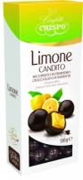 Драже Confetti Crispo Апельсинові цукати в шоколаді 130г