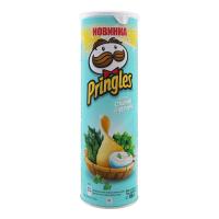 Чіпси Pringles cметана та зелень 165г