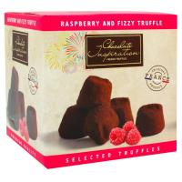 Трюфелі Chocolate Snspiration малина та ігристий цукор 200г