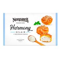 Тістечко Nonpareil Harmony еклер з творожним кремом 300г х6