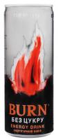 Напій енергетичний Burn Peach Zero Sugar ж/б 250мл х6