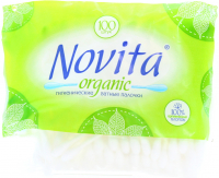 Палички ватні Novita Organic 100шт х6