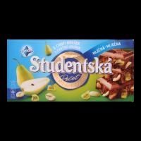 Шоколад Studentska мол. з ар.,жел.шмат.,шмат.груши 180г х20