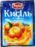 Кисіль Мрія зі смаком персика 90г