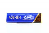 Батончик Roshen шоколадний з начинкою крем-брюле 43г х30