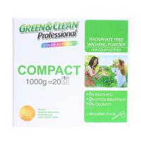 Пральний порошок безфосфатний для кольорових тканин Green&Clean Professional Color Automat, 1 кг