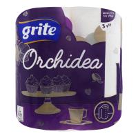 Рушники паперові рулонні Grite Orchidea Gold, 2 шт.