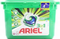 """Капсули для прання Ariel Pods 3в1 """"Гірське джерело"""" Automat, 15 шт."""