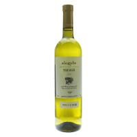 Вино TbilVino Тбілісі біле сухе 0.75л х3