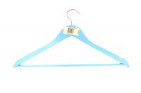 Вішалка МД Everyday одежна блакитна 10мм Art.RE05163ВІ х6