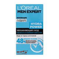 Гель зволожуючий для обличчя L'Oreal Paris Men Expert Hydra Power, 50 мл