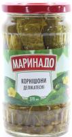 Огірки Маринадо корнішони делікатесні 370мл