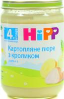 Пюре Hipp картопляне з кроликом 190г х6