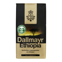 Кава Dallmayr Ethiopia Arabica смажена мелена 500г х12