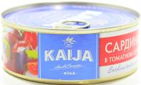 Сардина Kaija в томатному соусі 240г