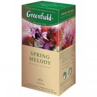 Чай Greenfield Spring Melody чорний 25*1,5г