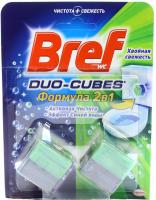 """Чистячі кубики для зливного бачка Bref Duo-Cubes 2в1 """"Хвойна свіжість"""", 2 шт."""