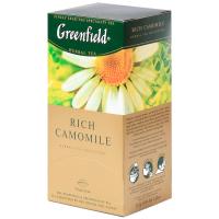 Чай Greenfield Rich Camomile 25*1.5г