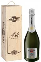 Вино ігристе Martini Asti біле солодке 7.5% 6л короб дерево
