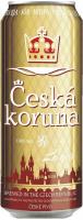 Пиво Ceska Koruna Lager світле фільтроване 4.7% з/б 0,5л