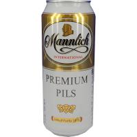 Пиво Mannlich Premium Pils з/б 0,5л х24