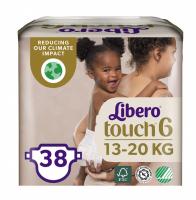 Підгузки Libero Touch 6 13-20кг 38шт
