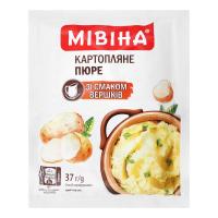 Пюре Мівіна картопляне зі смаком вершків 37г х30