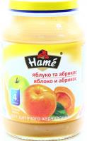 Пюре Hame абрикос 190г х10