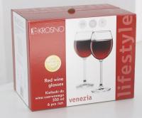 Набір Krosno бокалів для вина 350мл 6шт арт.246284 х6