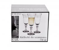 Бокал Krosno набір для шампанського 6шт 150мл арт.142524