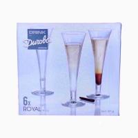 Набір бокалів Drink by Durobor Royal 160мм 6шт Арт.D-28-103