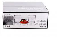 Набір бокалів Krosno для віскі 6шт 300мл арт.515175 х6