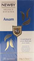 Чай Newby Assam чорний 25пак.*2г