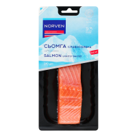 Сьомга Norven с/с філе на шкірі 240г х4