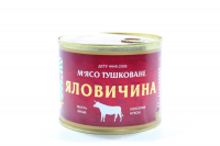 М`ясо Tinfood тушковане Яловичина 525г з/б х24