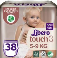 Підгузники-трусики Libero Touch 5-9кг 38шт.