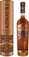 Коньяк Aznauri Extra XO 6* 40% 0,5л (тубус)