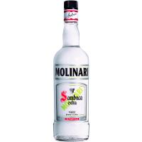 Лікер Molinari Sambuca extra 1л х2