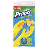 Рукавички Paclan гумові M 350017