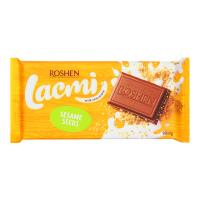 Шоколад Roshen Lacmi молочний з сезамом 90г х24