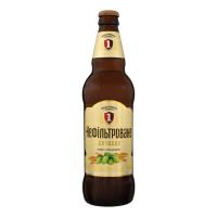 Пиво Перша Приватна Броварня Бочкове світле нефільтроване 4.8% 0,5л