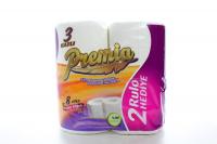 Папір туалетний Premia 3шари 8рулонів