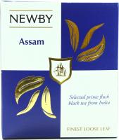 Чай Newby Assam чорний байховий 100г
